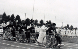 第1回大分県身体障害者体育大会の様子