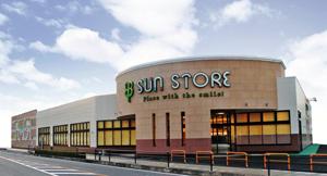 写真 スーパーマーケット 「サンストア」